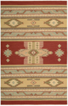 Nourison Dakota DA05 RED Red Closeout Area Rug