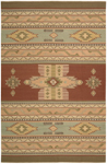 Nourison Dakota DA05 RUS Rust Closeout Area Rug
