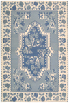 Nourison Dakota DA06 IVB Ivory/Blue Closeout Area Rug