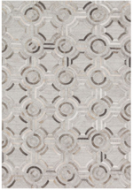 Designer Series 17021 Woodbridge Leather Gray Rug