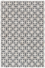 Designer Series 17022 Killian Hairhide Gray Rug