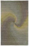 Trans-Ocean Liora Manne Dunes 9102/03 Waves River Closeout Area Rug