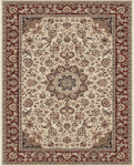 Feizy Daria 3980F Cream/Red Closeout Area Rug