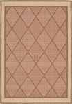 Nourison Eclipse ECL02 TER Terracotta Closeout Area Rug