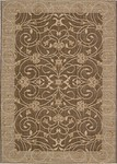 Nourison Eclipse ECL03 BRN Brown Closeout Area Rug