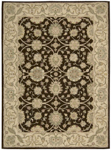 Nourison Easy Living EL01 BRN Brown Closeout Area Rug