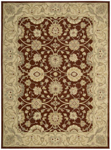 Nourison Easy Living EL01 RUS Rust Closeout Area Rug