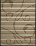 Nourison Elements ELE01 MOC Mocha Closeout Area Rug