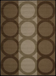 Nourison Elements ELE02 MOC Mocha Closeout Area Rug