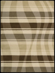 Nourison Elements ELE04 BGEBN Beige/Brown Closeout Area Rug