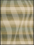 Nourison Elements ELE04 SAGBG Sage/Beige Closeout Area Rug