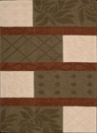 Nourison Elements ELE09 MTC Multi Closeout Area Rug