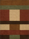 Nourison Elements ELE10 MTC Multi Closeout Area Rug