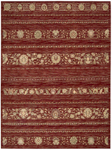 Nourison Essex Manor EM05 BUR Burgundy Closeout Area Rug