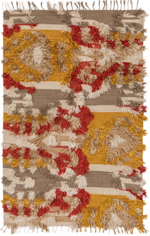 Justina Blakeney x Loloi  Fable FD-02 Camel / Sunset Closeout Area Rug