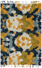 Justina Blakeney x Loloi  Fable FD-04 Marine / Gold Closeout Area Rug