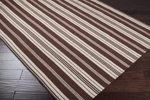 Surya Country Living Farmhouse Stripes FAR-7004 Brown/Beige Closeout Area Rug - Spring 2013