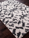 Jaipur Foundations By Chayse Dacoda FC03 Kaleidiscope White/Black Ink Closeout Area Rug - Spring 2014