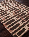 Jaipur Foundations By Chayse Dacoda FC04 Corroded Deep Charcoal/Deep Charcoal Closeout Area Rug - Fall 2013