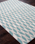 Jaipur Foundations By Chayse Dacoda FC06 Arrow Head Light Turquoise/Light Turquoise Closeout Area Rug - Fall 2013