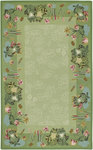 Surya Flor FLO-8931 Green Closeout Area Rug - Fall 2009