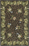Surya Flor FLO-8933 Brown Closeout Area Rug - Fall 2009