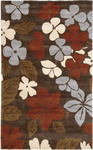 Jaipur Fusion FN04 Polynesian Punch Brown/Rust Closeout Area Rug