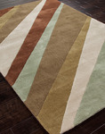 Jaipur Fusion FN20 Groove Ivy Green/Ivy Green Closeout Area Rug - Fall 2013