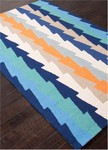 Jaipur Fusion FN26 Stairstep Patriot Blue & Porcelain Closeout Area Rug