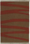 Surya Frontier FT-10 Brick Red Closeout Area Rug