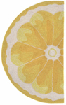 Trans-Ocean Liora Manne Frontporch 1556/09 Lemon Slice Yellow Area Rug