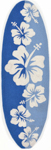 Trans-Ocean Liora Manne Frontporch 1597/03 Floralboard Blue Closeout Area Rug