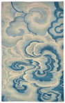 Trans-Ocean Fuji 8200/03 Cloud Blue Closeout Area Rug