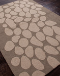 Jaipur Grant Design Indoor-Outdoor GD07 Downstream Dark Gray/Light Gray Closeout Area Rug - Fall 2013