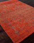 Jaipur Geode GE06 Scroll Rust & Burnt Olive Closeout Area Rug