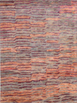 Nourison Gemstone GEM01 FIREO Fire Opal Area Rug