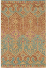 Justina Blakeney x Loloi Gemology GQ-02 Spice / Teal Area Rug