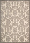 Nourison Graphic Illusions GIL03 IVLAT Ivory/Latte Closeout Area Rug