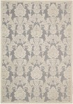 Nourison Graphic Illusions GIL03 NICKL Nickel Area Rug