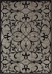 Nourison Graphic Illusions GIL05 BLK Black Closeout Area Rug