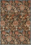 Nourison Graphic Illusions GIL06 BRN Brown Closeout Area Rug