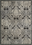 Nourison Graphic Illusions GIL09 BLK Black Closeout Area Rug