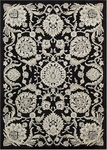 Nourison Graphic Illusions GIL17 BLK Black Closeout Area Rug