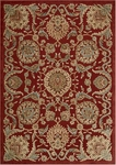 Nourison Graphic Illusions GIL17 RED Red Closeout Area Rug