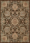Nourison Graphic Illusions GIL17 CHO Chocolate Closeout Area Rug
