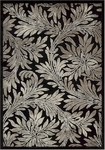 Nourison Graphic Illusions GIL19 BLK Black Closeout Area Rug