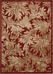 Nourison Graphic Illusions GIL19 RED Red Closeout Area Rug