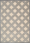 Nourison Graphic Illusions GIL21 IV Ivory Closeout Area Rug
