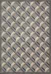 Nourison Graphic Illusions GIL22 STONE Stone Closeout Area Rug