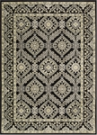 Nourison Graphic Illusions GIL24 BLK Black Closeout Area Rug